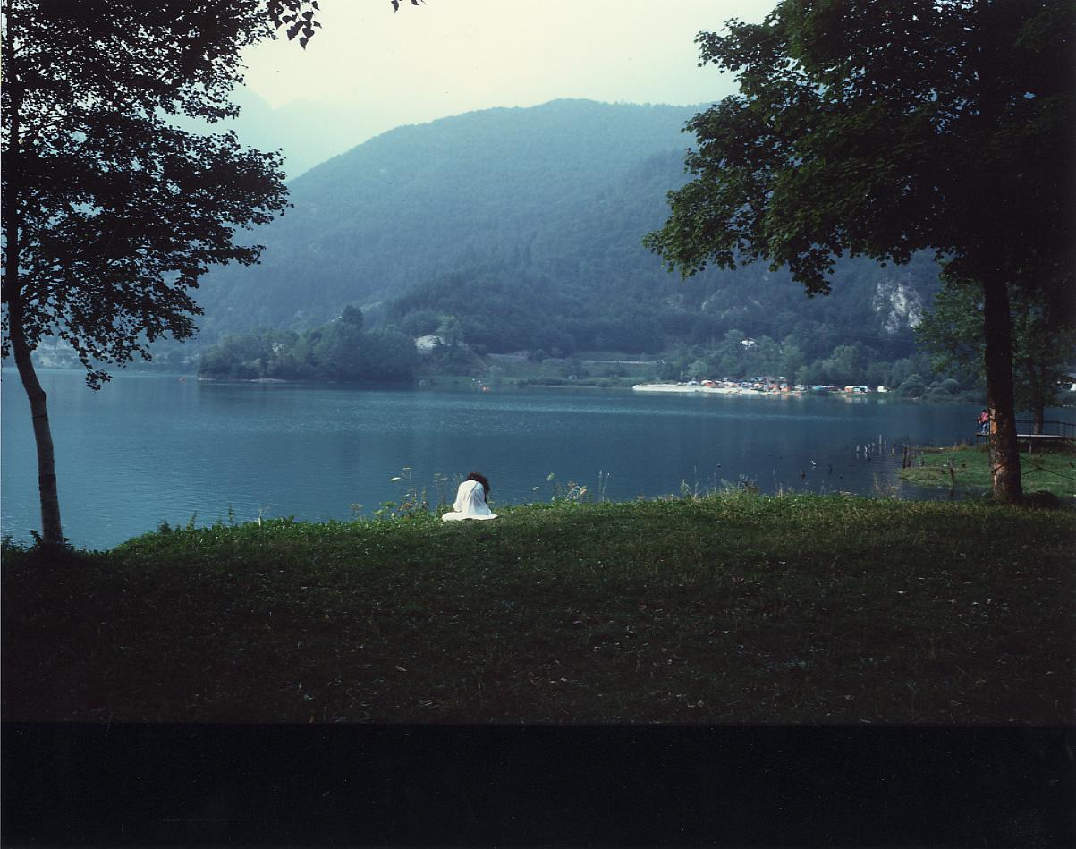 Luigi Ghirri Lago di Ledro, Trento 1984 PHOS Centro Fotografia Torino