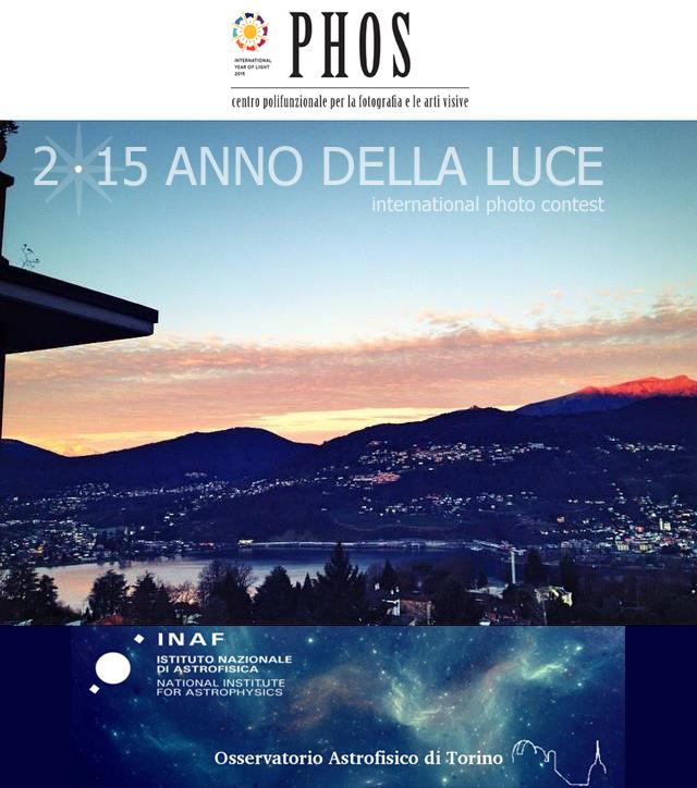 Cartolina 2015 ANNO DELLA LUCE